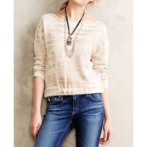 Anthropologie Sparrow Janine sweater size small